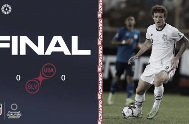 Estados Unidos sumó un punto en su primer partido clasificatorio camino a Qatar 2022 | Fotografía: U.S.Soccer