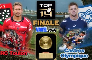 Live finale Top 14: Castres Olympique - Rugby Club Toulonnais en direct