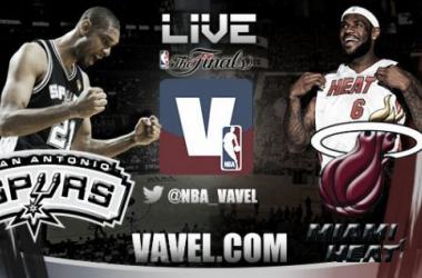 San Antonio Spurs vs Miami Heat Live