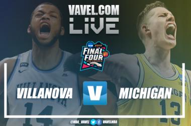 Resumen Villanova vs Michigan en NCAA 2018 (79-62)