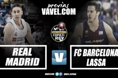Previa Real Madrid Baloncesto - Barcelona Lassa: el repóker blanco en juego ante el despertar azulgrana