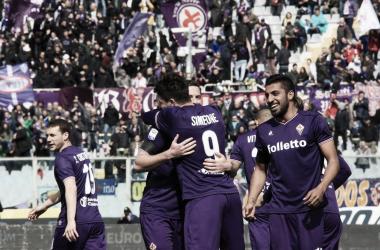 'Cholito' chegou a oito gols no Italiano (Foto: Divulgação/ACF Fiorentina)