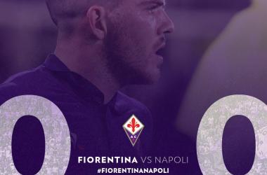 Serie A- Il Napoli sbatte sul muro Lafont, pareggio a reti bianche a Firenze