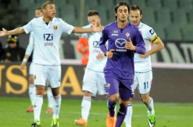 Em jogo cheio de gols, Fiorentina e Genoa ficam no empate
