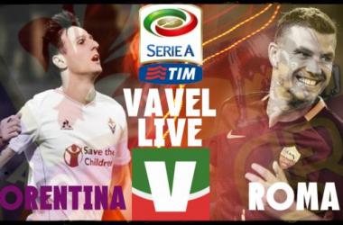 Live Fiorentina - Roma, risultato partita Serie A 2015/2016  (1-2)