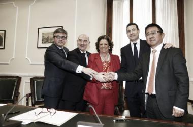 El Valencia firma un acuerdo clave para finalizar el nuevo estadio