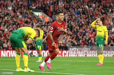 Full strength for Liverpool in trip to Norwich