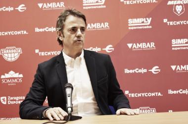 Fisac será el nuevo técnico maño las 2 próximas temporadas/ Foto: Basket Zaragoza