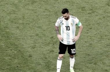 Argentina - Francia, puntuaciones de Argentina, Mundial de Rusia 2018 [Foto FIFA.com]
