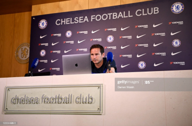 Frank Lampard: 'We will approach the game to win it'