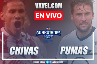 Goles y resumen: Chivas 2-1 Pumas en Liga MX Guardianes 2021