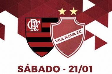 Resultado Vila Nova x Flamengo no amistoso 2017 (2x1)