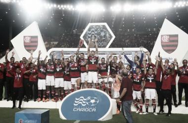 Recordar é viver: no último confronto Flamengo venceu por 2 a 0 e saiu campeão da Taça Guanabara