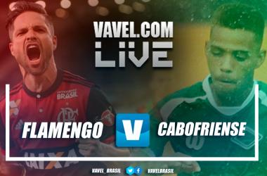 Flamengo x Cabofriense AO VIVO hoje pelo Campeonato Carioca (1-0)