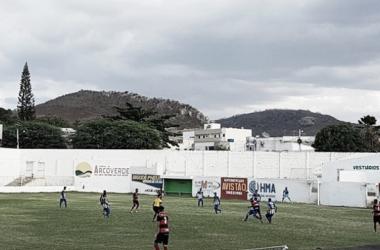 A rede não balançou no Estádio Áureo Bradley, em Arcoverde (Foto: Emerson Barros/Especial à VAVEL Brasil)