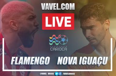 Gol e melhores momentos deFlamengo 1x0 Nova Iguaçu pelo Campeonato Carioca 2021