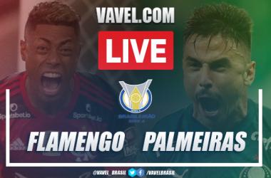 Gols e melhores momentos para Flamengo 2x0 Palmeiras pelo Campeonato Brasileiro