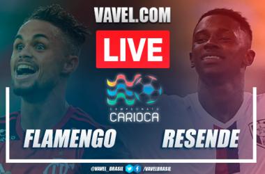 Gol e melhores momentos deFlamengo 4x1 Resende pelo Campeonato Carioca