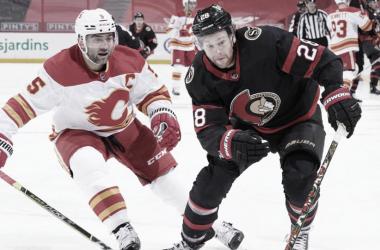La derrota 6 a 1 contra los Ottawa Senators es una muestra clara de los problemas que sufre Calgary - NHL.com