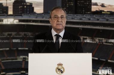 Florentino Pérez protagoniza el acto de patrocinio con NIVEA