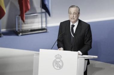 Florentino Pérez, positivo por coronavirus