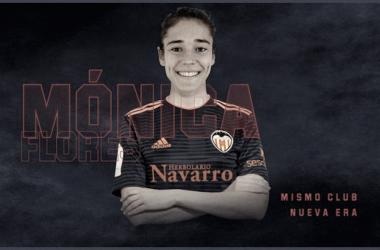 Mónica Flores llega al Valencia Femenino como nuevo fichaje. | Foto: Valencia CF