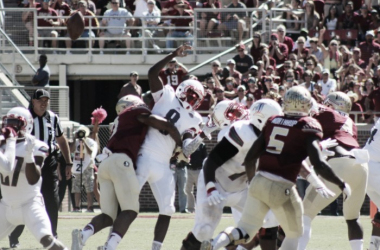 Florida State Seminoles and the Louisville Cardinals in 2015 | Source: Mark Blankenbaker