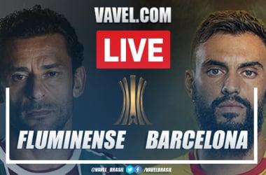 Gols e melhores momentos Fluminense x Barcelona de Guayaquil pela Libertadores (2-2)