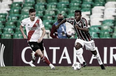 Cazares é uma das apostas para Fluminense vencer e voltar a Argentina com a classificação para o mata-mata da Libertadores (Divulgação/Fluminense)