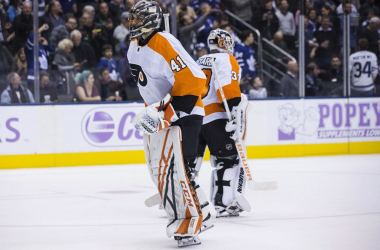 Philadelphia Flyers got blown out by Maple Leafs.  |  (Photo:Chris Young / AP)