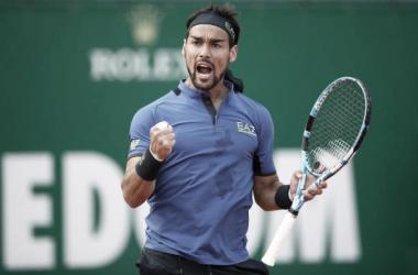 Fabio Fognini venceu Filip Krajinovic noMasters 1000 de Monte Carlo 2021 (ATP / Divulgação)