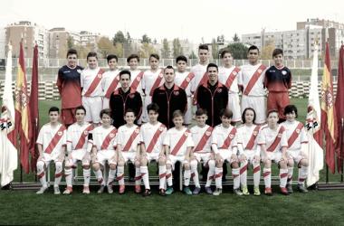 Cinco jugadores infantiles del Rayo Vallecano se entrenaron con la selección sub-14 de Madrid