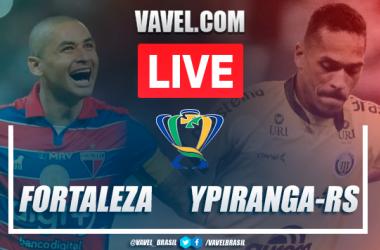 Gol e melhores momentos deFortaleza 1x0 Ypiranga-RS pela Copa do Brasil