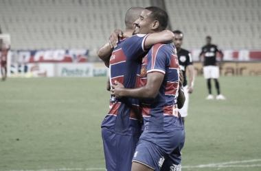 Wellington Paulista comanda vitória do Fortaleza sobre o Bragantino no Brasileirão