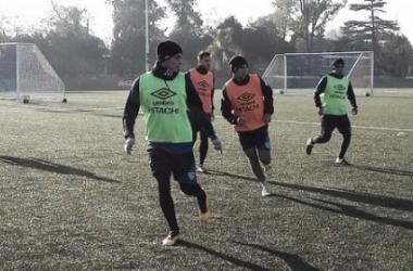 Continúa la preparación en la Villa Olímpica. Foto: Vélez Sarsfield Página Oficial.