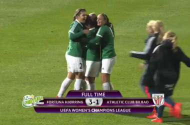 UEFA Women's Champions League – Fortuna Hjørring (4) 3-1 (3) Athletic Bilbao: Danes advance in extra time thriller