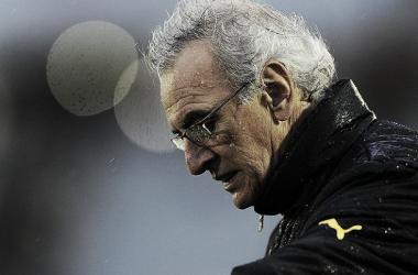 Jorge Fosatti desorientado tras la derrota. Foto: Tenfield