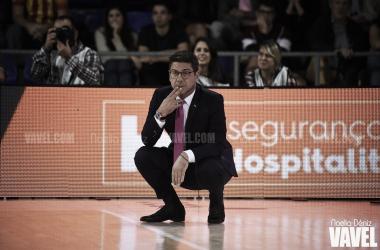 Fotis Katsikaris FC Barcelona - Herbalife Gran Canaria / Foto: Noelia Déniz (VAVEL)