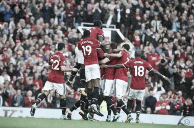 Wayne Rooney no pudo parar al Manchester United