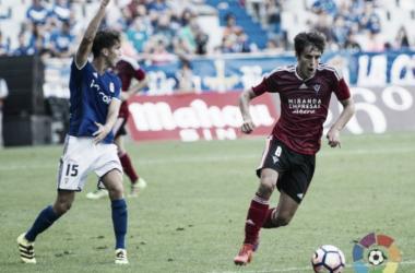 Sangalli y Lucas Torró durante el partido de la primera vuelta. | Foto: La Liga.
