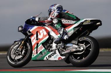 """Álex Márquez: """"Marc en pista lleva la moto allímite"""""""