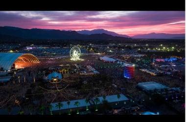 Fotografía publicada por el instagram oficial de Coachella/ @coachella