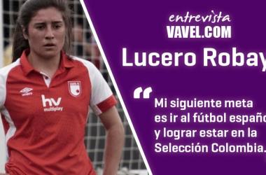"""Entrevista a Lucero Robayo: """"Toda mi vida se la debo al fútbol"""""""