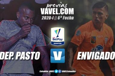 Previa Deportivo Pasto vs. Envigado F.C.: desafío para ponerse a prueba