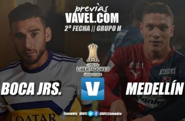 Previa Boca Juniors vs. Independiente Medellín: ambos en busca de tres puntos