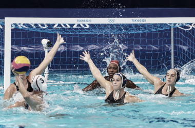 Goals and Highlights: Spain 5-14 USA in Olympic Women's Waterpolo Final