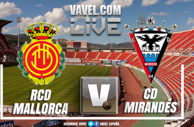El Mallorca viajará a Miranda con dos goles de ventaja