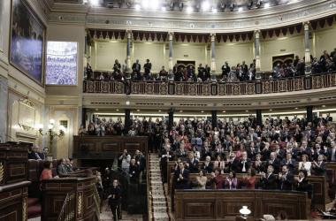 El Congreso de los DIputados asiste al nombramiento de un nuevo Presidente. Fuente: Twitter.