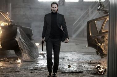 Keanu Reeves como Jonh Wick. (Foto(sin efecto): hoolywoodreporter).