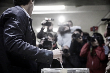 Rivera durante las pasadas elecciones. Fuente: Cuenta Oficial de Facebook de Albert Rivera (@Albert.Rivera.Cs).